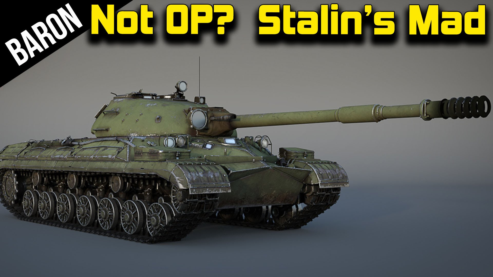 War Thunder T-10m, Stalin's Not So OP Tank!