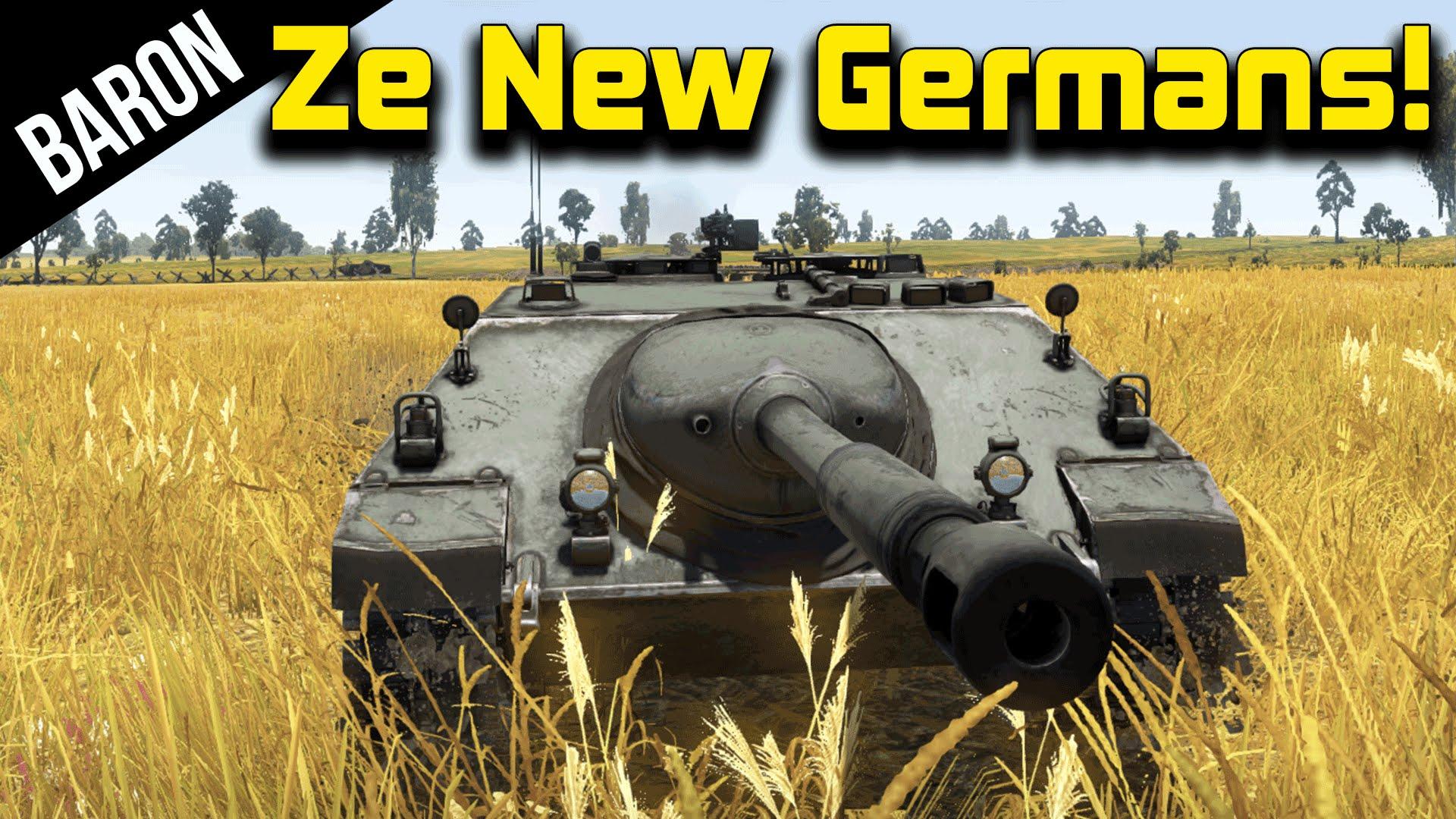 War thunder german tanks