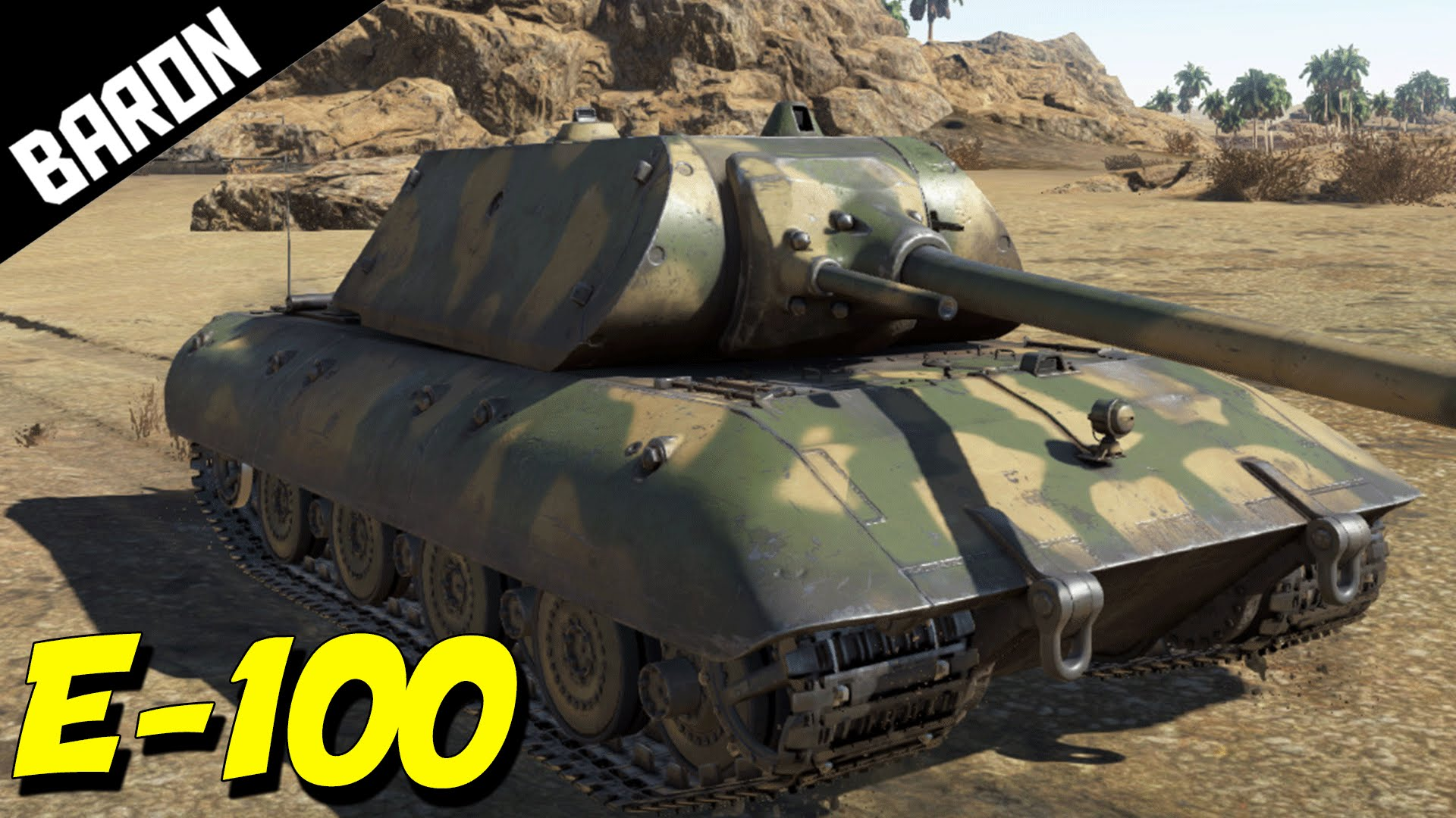 E-100 Super Heavy Tank (War Thunder) ACE Tanker!