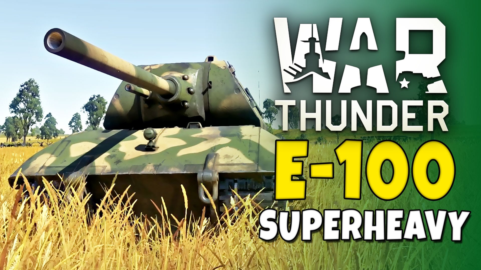 e-100 war thunder