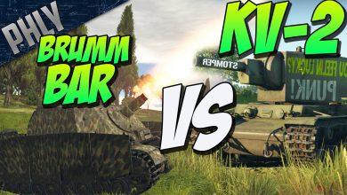 BRUMMBAR-VS-KV-2-BATTLE-OF-THE-DERPS-War-Thunder-Tanks
