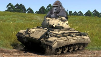 Harambe-is-a-Spawn-Camper-Meme-Thunder-Gameplay