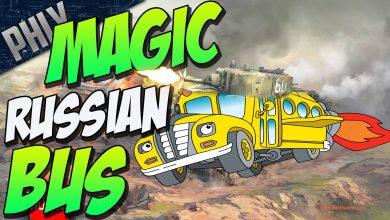 MAGIC-RUSSIAN-BUS-T-28-Tank-War-Thunder-Tanks-Gameplay