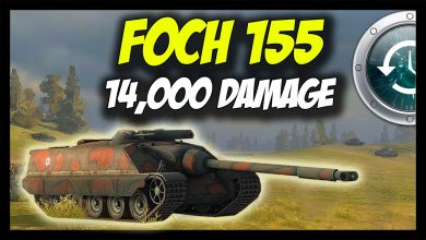 World-of-Tanks-AMX-50-Foch-155-When-it-was-MAD-14000-Damage-Past-4-Patch-8.7