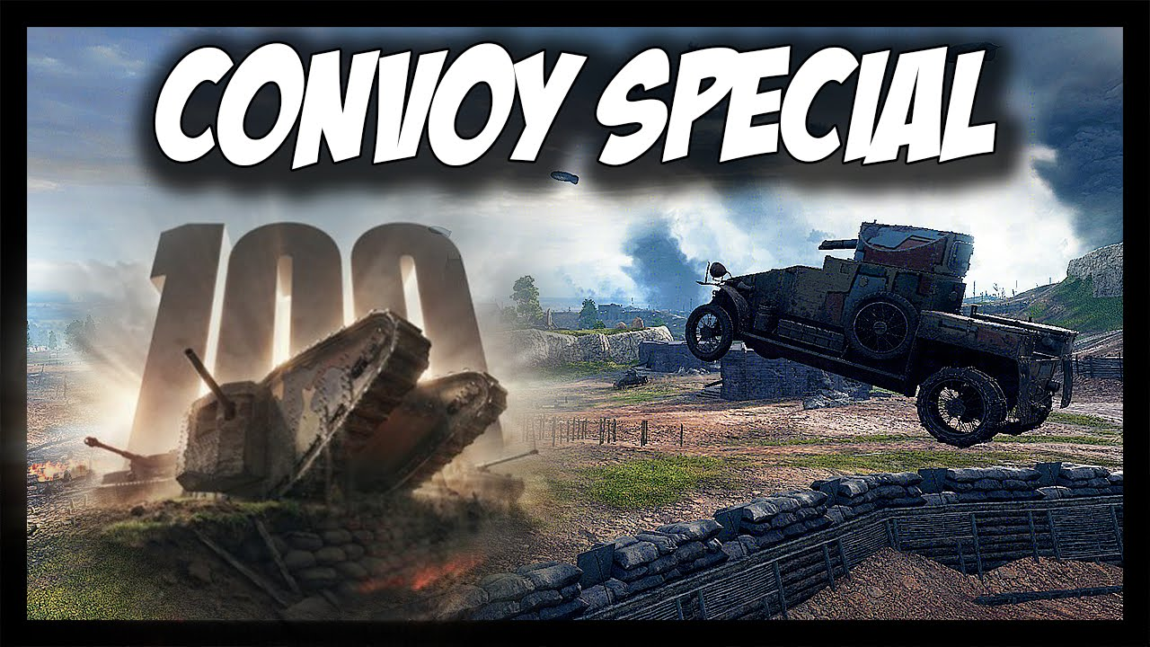 world of tanks convoy game mode 100 years of tanks. Black Bedroom Furniture Sets. Home Design Ideas