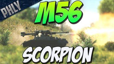 NO-ARMOUR-NO-PROBLEM-M56-Scorpion-TANK-War-Thunder-Tank-Gameplay