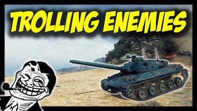 World-of-Tanks-Trolling-Enemies-Silently...-AMX-30B-vs-Bat.-Chatillon-25t