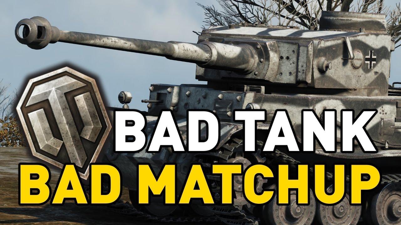 world of tanks terrible matchmaking