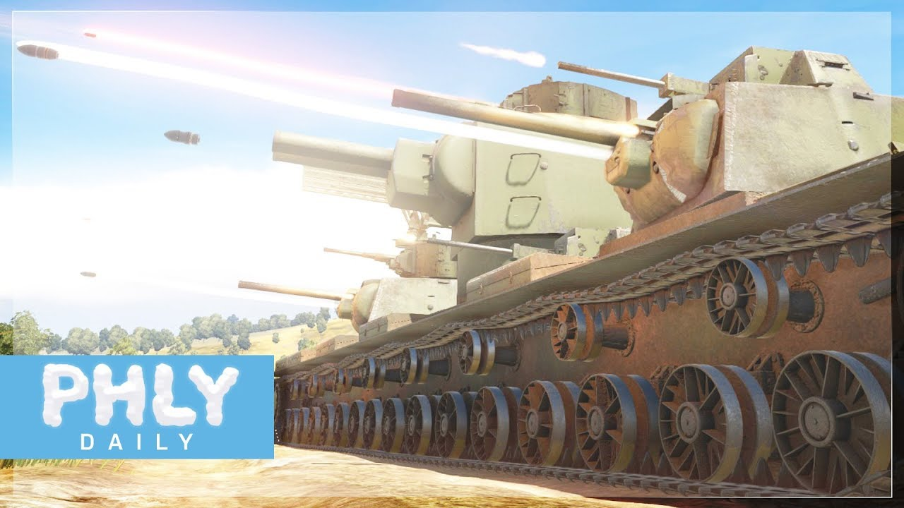 playable kv 6 super heavy tank volume warning war thunder tanks. Black Bedroom Furniture Sets. Home Design Ideas