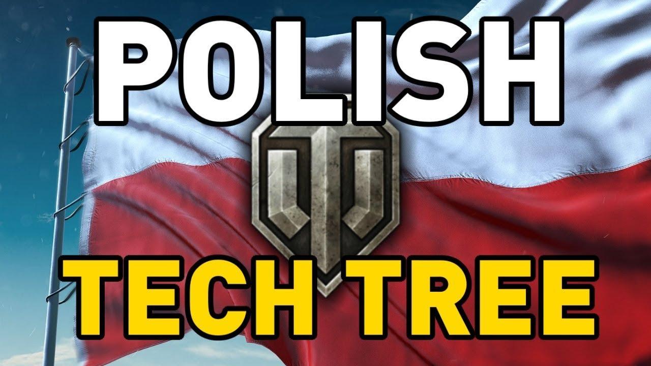 wot polish tech tree