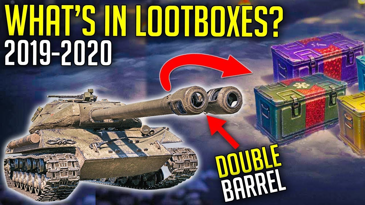 World Of Tanks Christmas Boxes 2020 E 75 TS and Double Barrel in Loot Boxes?   World of Tanks