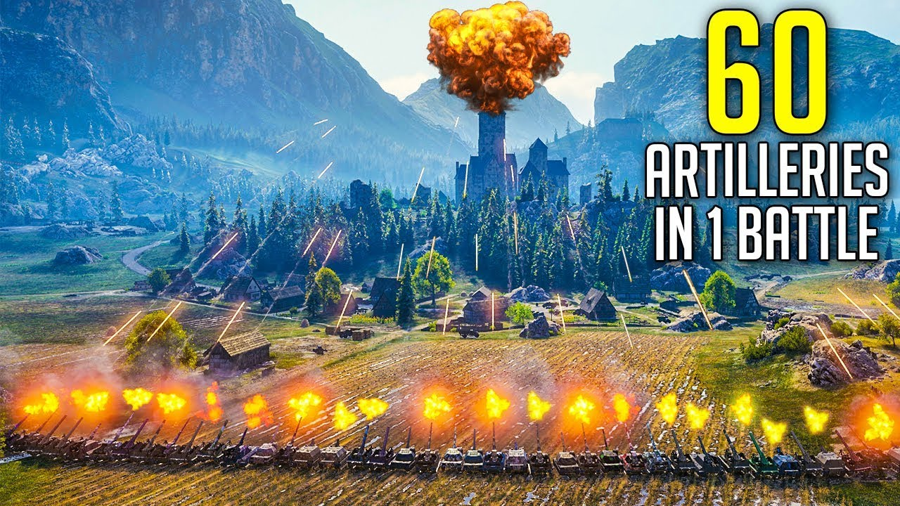 Are 60 Spgs Going To Crash The Game World Of Tanks 60 Artilleries Face Off Season 2